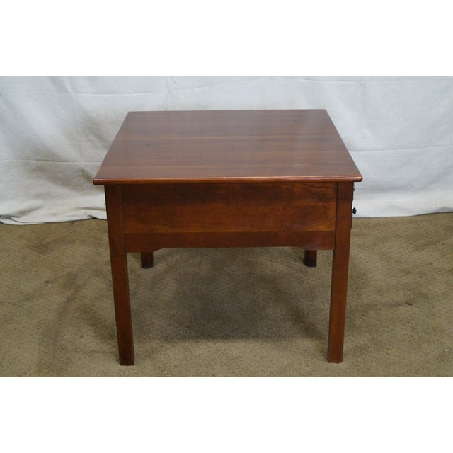 Lexington Bob Timberlake Solid Cherry Side Table - Image 3 of 10