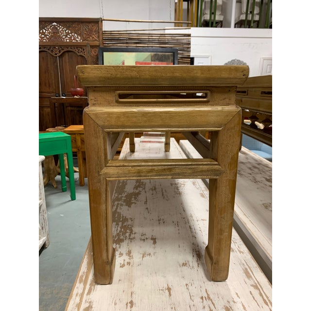 Low Asian Bench For Sale In West Palm - Image 6 of 7