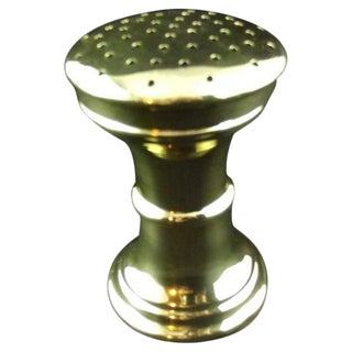 Polished Brass Talc Shaker For Sale