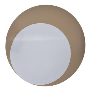 Italian Mid-Century Circle Within Circle Mirror For Sale