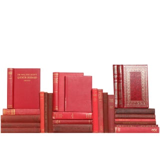 Red Pocket-Sized Classics - Set of 25 For Sale