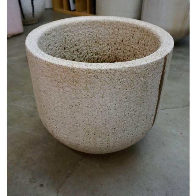 1960s Ceramic and Glass Crucible or Planter For Sale - Image 5 of 8