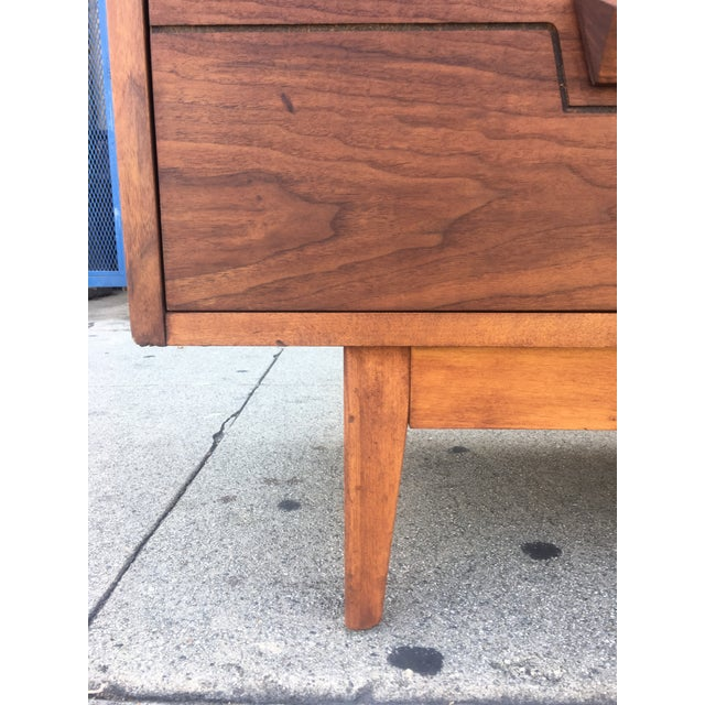 Mid-Century Dresser With Sculpted Pulls - Image 7 of 11