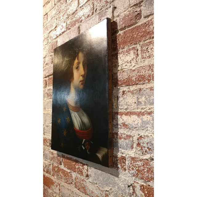 La Poesia - 18th Century Oil Painting For Sale In Los Angeles - Image 6 of 8