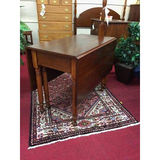 Antique Traditional Sheraton Drop Leaf Table Preview