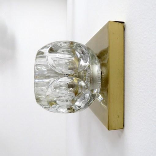 Peill & Putzler Peill & Putzler Cubic Wall Lights - A Pair For Sale - Image 4 of 10