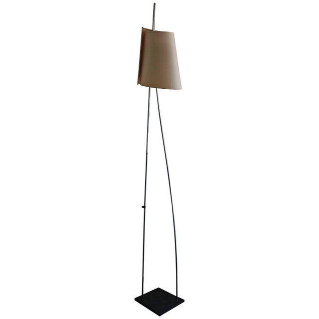 Metal Floor Lamp by Italiana Luce For Sale - Image 7 of 7
