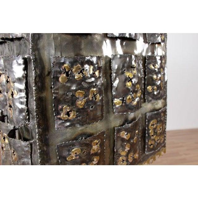Mid-Century Brutalist Table Lamp - Image 4 of 6