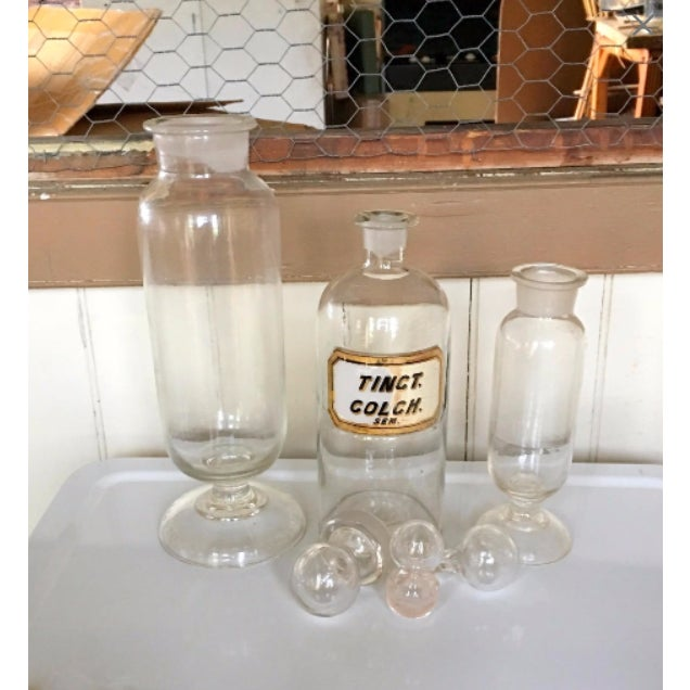 WR Warner Victorian Apothecary Jars - Set of 3 - Image 3 of 6