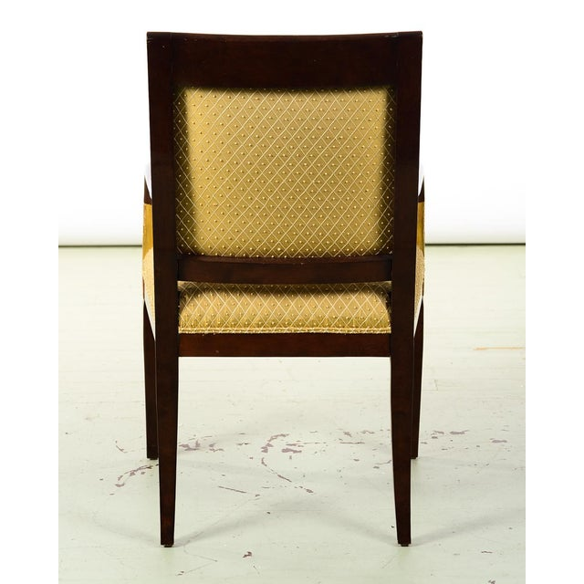 French Empire Mahogany Chairs -A Pair For Sale - Image 9 of 10