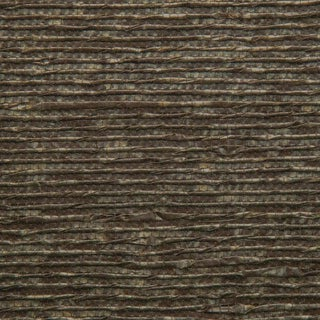 Sample, Twisted Paper- Brown/Gold - Hand-Painted Woven Paper Wallcovering For Sale