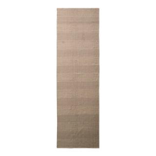 Modern Flat Weave Beige Brown Geometric Striped Pattern by Rug & Kilim For Sale