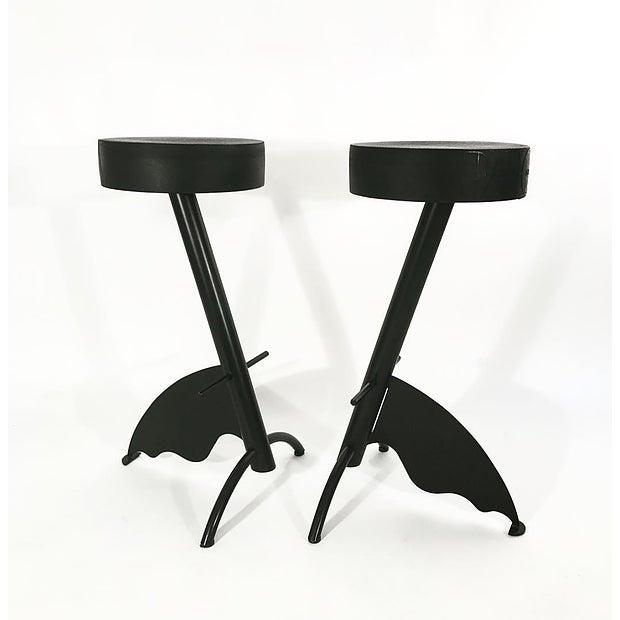 Platform stools by Maurizio Peragalli, manufactured by Zeus