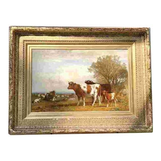 19th C. James McDougal Hart(American 1828-1901) Painting For Sale