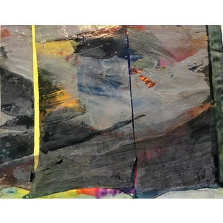 1980s Mixed Media Abstract Bay Area Artist For Sale