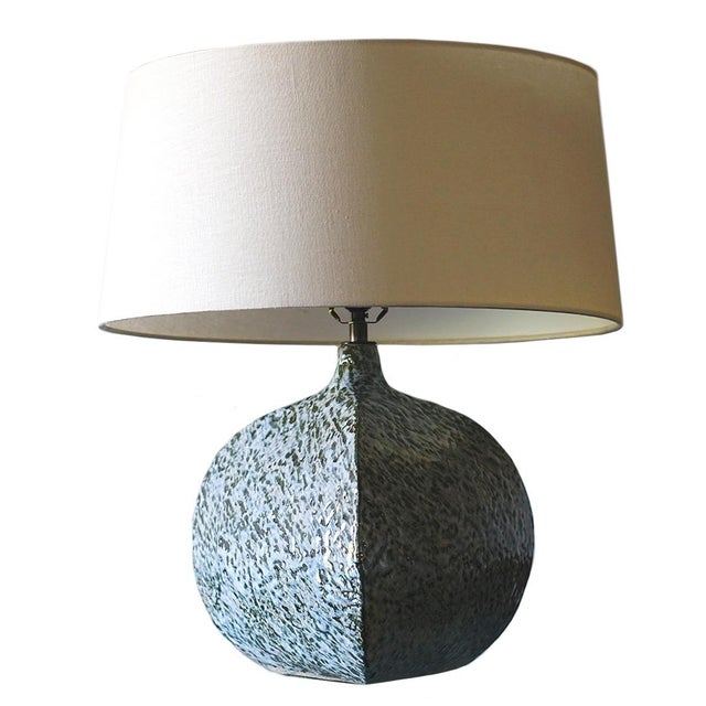 Black Belly Pot Table Lamp For Sale - Image 8 of 8