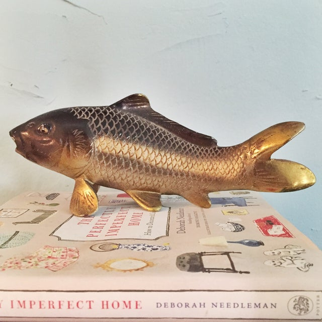 Vintage Brass Fish - Image 2 of 3