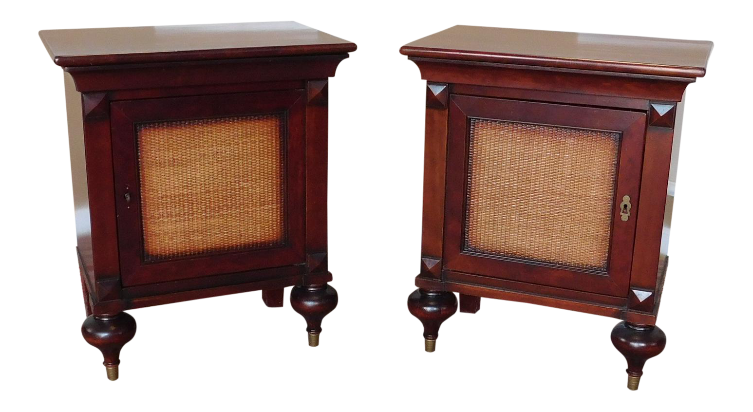 Grasstanding eplap 17621 urban furniture Lighting Asian Influenced Furniture Grange Furniture French Indochine Asian Influenced Nightstand Tables Pair Igexao Asian Influenced Furniture I Batteryuscom