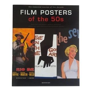 """Film Posters of the 50's"" Graphic Design Art Book For Sale"
