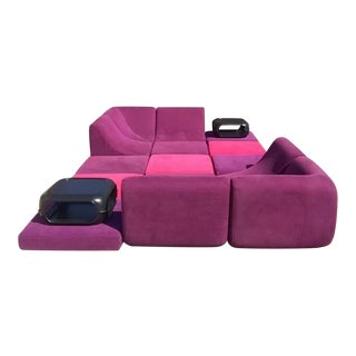 Mid Century Modern Space Age Panton Colombo Era Luigi Colani Pool Sofa For Sale