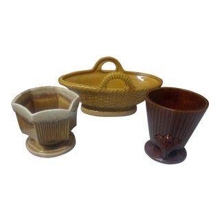 Red Wing Pottery- 3 Piece For Sale