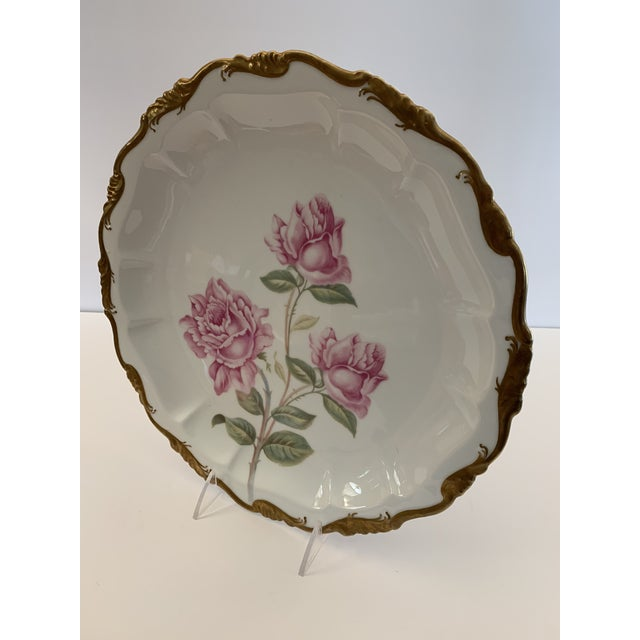 Late 19th Century Late 19th Century Antique R. C. Crown Bavaria Plate For Sale - Image 5 of 9
