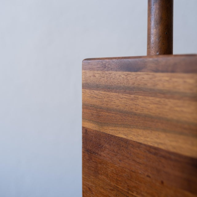 1950s Jane and Gordon Martz Wood Lamp For Sale - Image 5 of 8