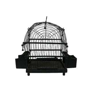 Antique French Victorian Bird Cage For Sale