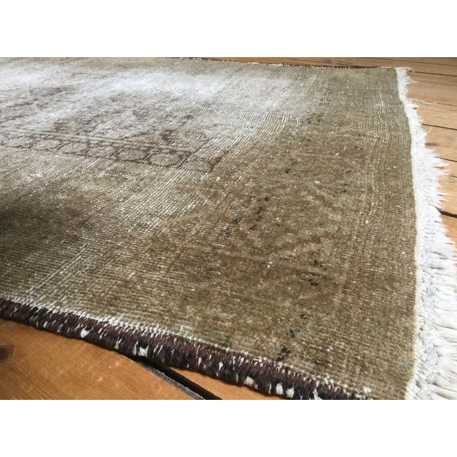 """Distressed Belouch Rug - 3'1"""" x 5'6"""" - Image 5 of 5"""