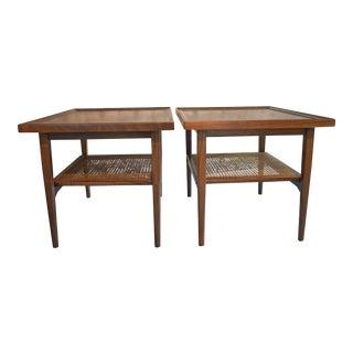Drexel Declaration End Tables- A Pair