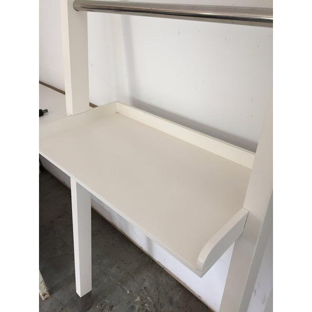 "White ""Nappa"" Pottery Barn Ladder Storage - Image 8 of 8"