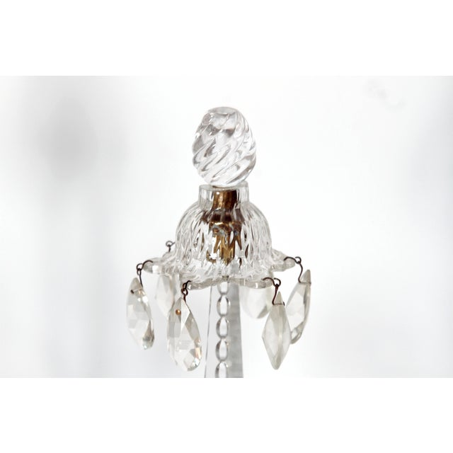 George II Cut Glass Girandoles / Lustres - Image 10 of 11