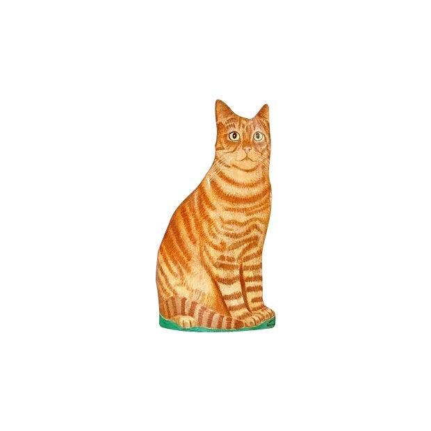 Piero Fornasetti Painted Lightograph Cat Waste Bin - Image 1 of 6