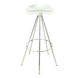 Pepe Cortes for Amat Mid Century Chrome Jamaica Stool For Sale