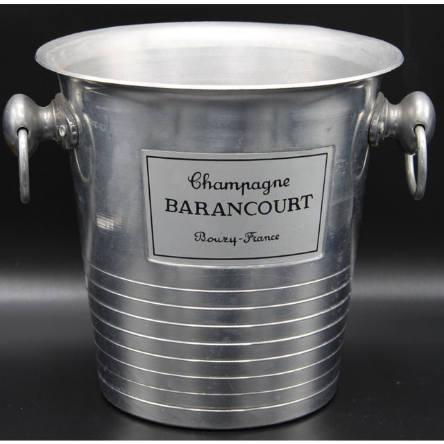 Vintage French Barancourt Champagne Ice Bucket For Sale - Image 12 of 13