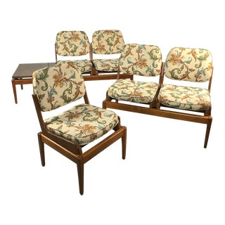 Mid-Century Modern Modular Seating - Set of 3