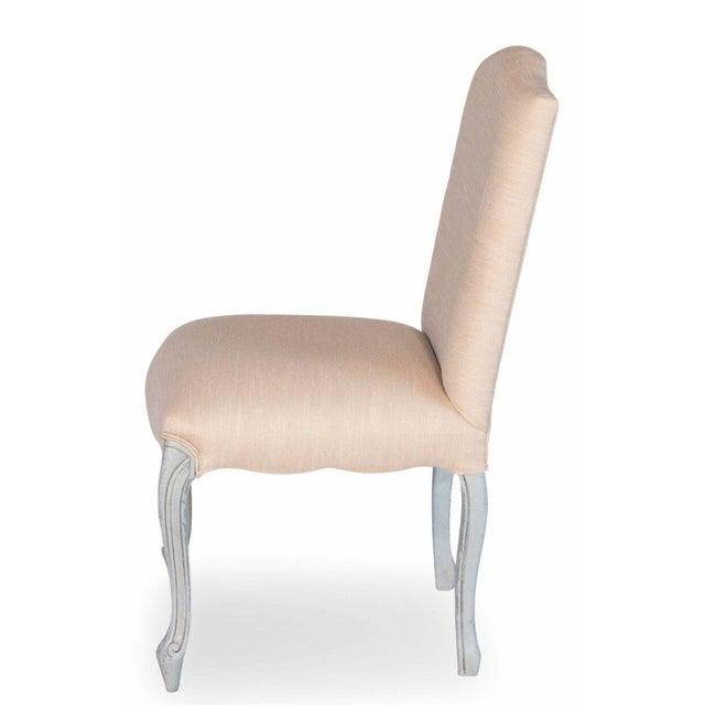 Sarreid LTD 'Vendome' Cream & Blue Chair - Image 3 of 4