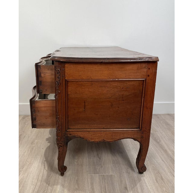 Louis XVI 2 Drawer Commode, Italy Circa 1770 For Sale - Image 4 of 10