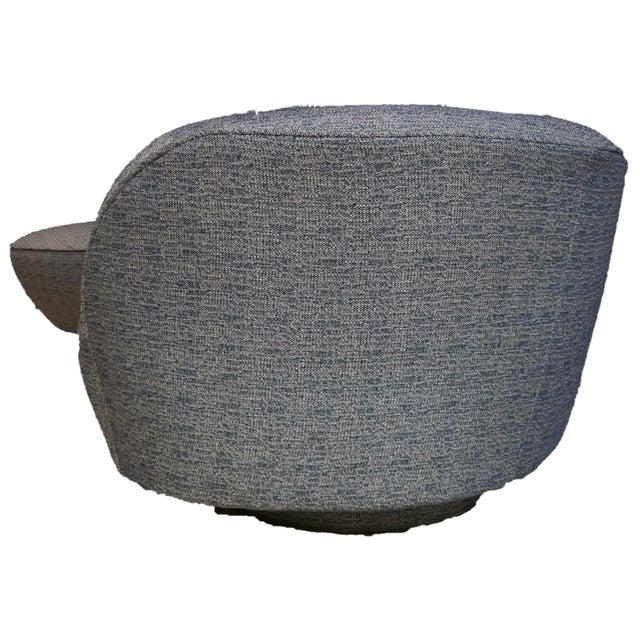 2020s Vladamir Kagan Original Design Kidney Sofa For Sale - Image 5 of 6