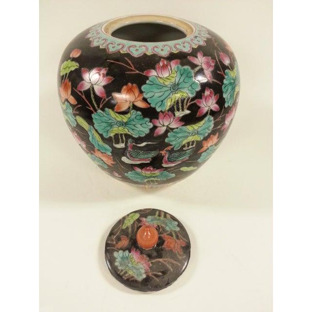 Black Vintage Melon Jars - A Pair - Image 7 of 8