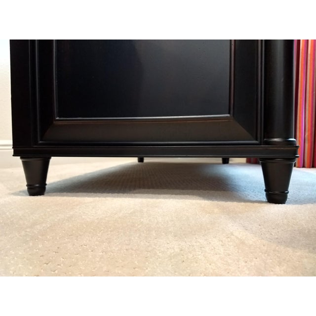 Traditional Elegant Two-Drawer Lateral File Cabinet Credenza - (Aspenhome: Young Classics Office Collection) For Sale - Image 3 of 13