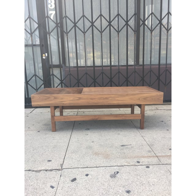 """Custom Handcrafted """"Rosa"""" Coffee Table For Sale In Los Angeles - Image 6 of 13"""