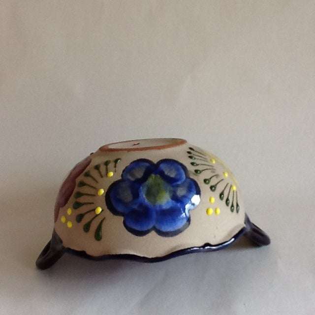 Vintage Handmade Pottery Bowl - Image 8 of 9