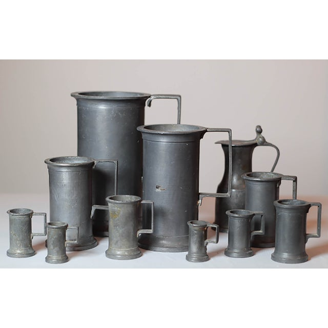 Pewter Vessel Collection- Set of 11 - Image 2 of 6