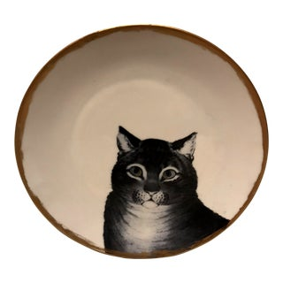 Metropolitan Museum of Art Decorative Plate the Favorite Cat For Sale