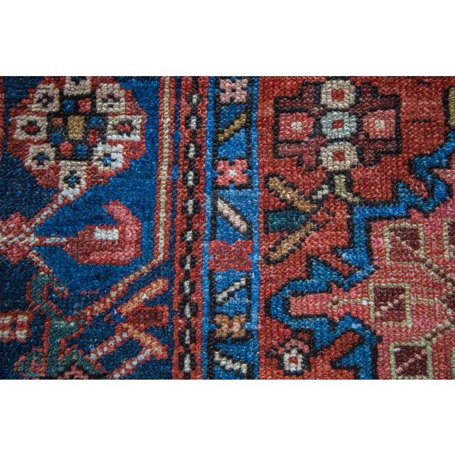 "Vintage Karaja Rug - 4'6"" x 6'2"" - Image 5 of 5"