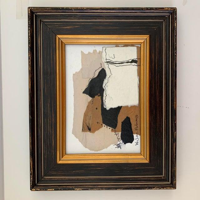 Paper Joe Adams Framed Collage Art For Sale - Image 7 of 13