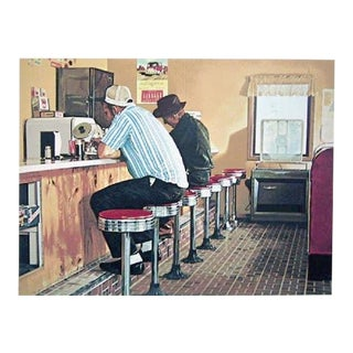 Twin Springs Diner by Ralph Goings