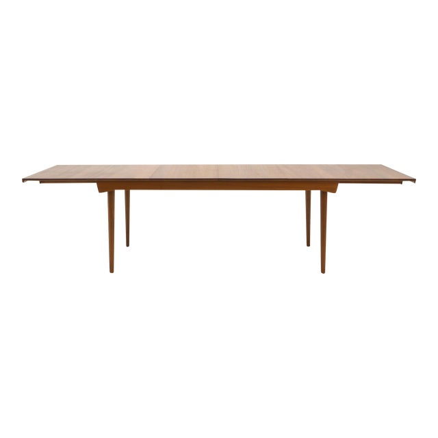 Finn Juhl Teak Dining Table, Expandable with Two Leaves, Exceptional Condition - Image 1 of 11