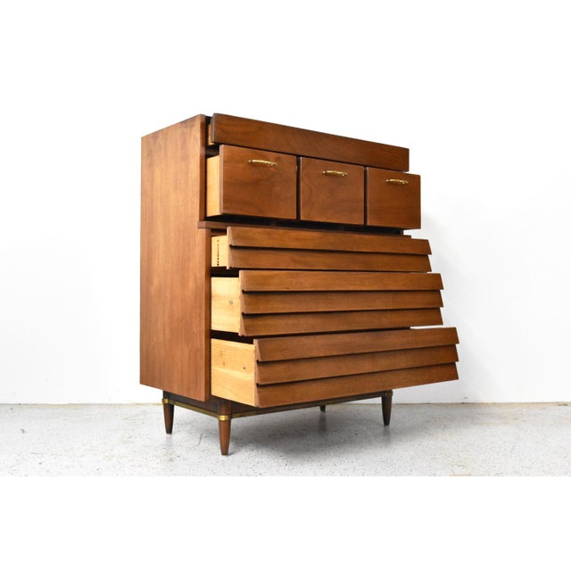 American of Martinsville Dania Highboy Chest - Image 3 of 10
